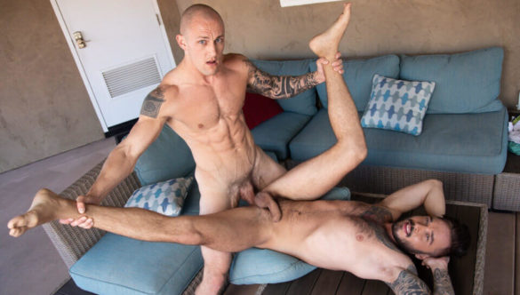 Gay Porn XXX Free Video : Spicing Up The Party