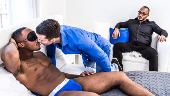Gay Threesome Sex Videos : The Gift, Sc.#01