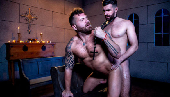 Gay Anal Sex Video Clip : The Night Riders, Sc. #02