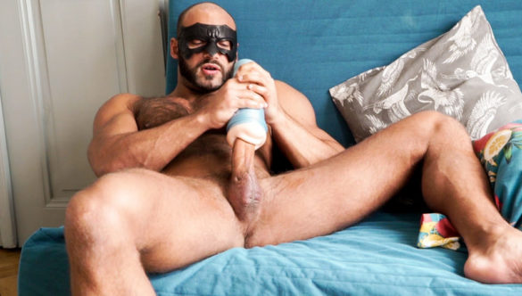 Gay Masturbation With Toys : The Gift