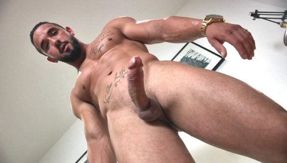 Gay Jerk Off Clip : Zack's Strip Or Pay BTS