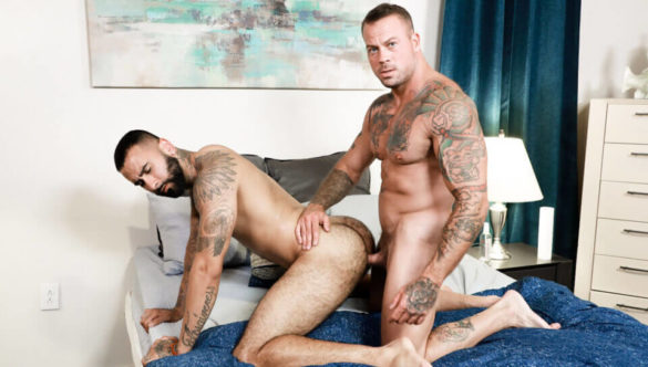 Gay Blowjob Video Clips : Rainy Afternoon Romp