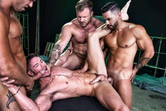 Group Sex Anal HD : The Fixer