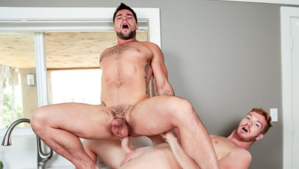 Gay Porn Movie Clips : Seeing Red