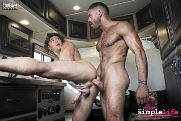 Anal Gay Hot : The Gay Simple Life Ep 1